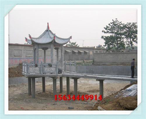 浙江公园石亭子图片 西藏广场石头亭子价钱 2