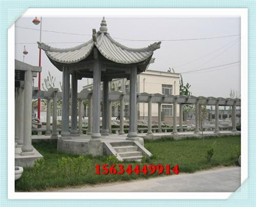 浙江公园石亭子图片 西藏广场石头亭子价钱 4