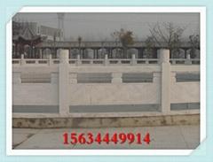 济宁石雕大桥护栏图片 甘肃石头