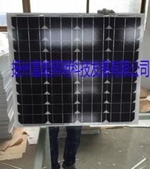 富能廠家直銷光伏組件單晶硅電池板12V55W