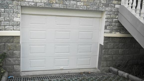 车库电动遥控返板门 4