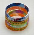 customized silicone bracelet promotional