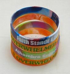 customized silicone bracelet promotional gift