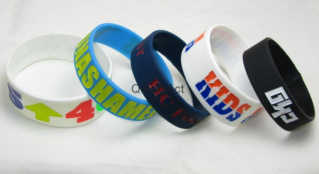 custom silicone watchband  new design hot sale 3