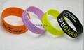 custom silicone bracelet christmas gift