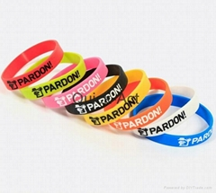 silicone bracelets promotional products