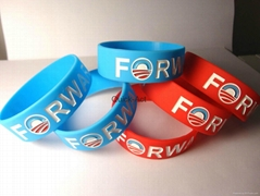 Silicone wristband advertising promotional products