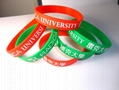 silicone wristband promotional world cup