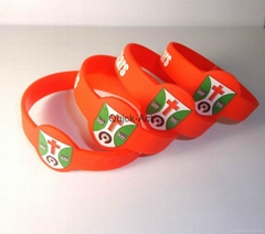 silicone wristband promotional products