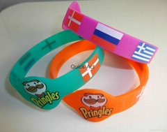 silicone bracelet advertising promotional products