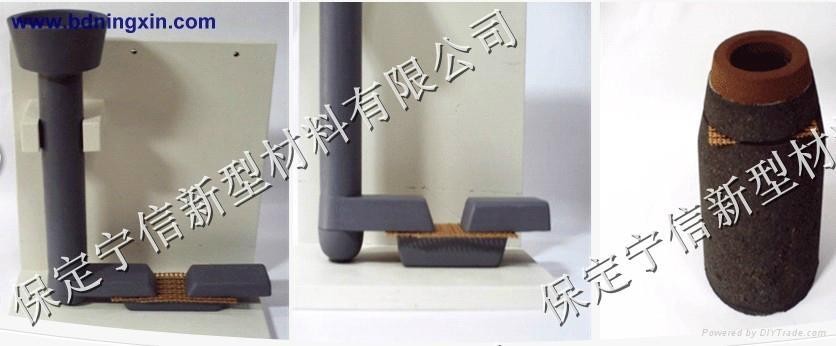 high silica fiberglass-for iron and non ferrous castings filtration 4
