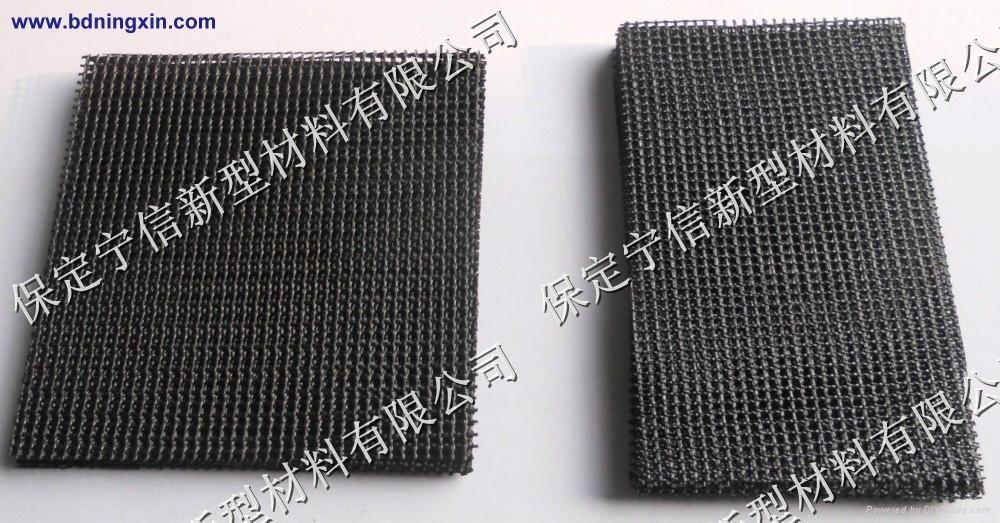 high silica fiberglass-for iron and non ferrous castings filtration 3