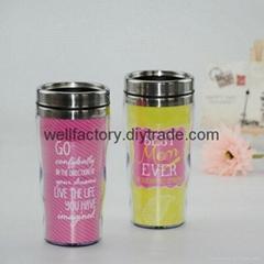 Personalized thermal coffee mug 450ml