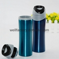 Promotional gift double wall stainless steel insulated travel coffee mug 2