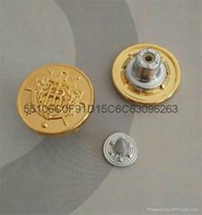 Manufacturers wholesale alloy jeans button