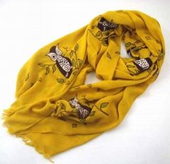 2015 fanshion print scarf