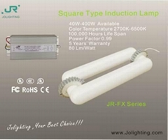 Rectangular Induction Light Tube
