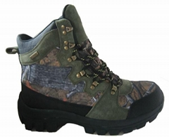 Camo hiking shoes