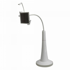Tablet Floor Stand with Small Lamp