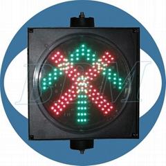led parking signal light 200mm stop go
