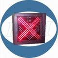 cross arrow traffic signal light 400mm