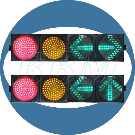 200mm ball arrow 4 lights traffic light 1