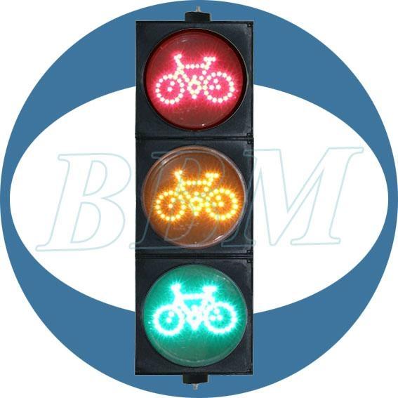 200mm bike traffic warn light signal 1