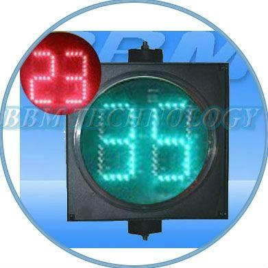digital counter timer traffic light 200mm 1