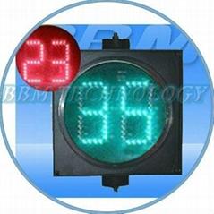 digital counter timer traffic light 200mm