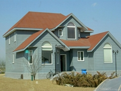 Stone coated metal roofing tiles factory direct