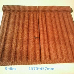 Factory direct quality Stone coated metal roofing tiles