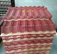 High quality stone coated roofing tiles construction material