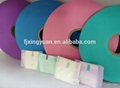 Fast easy tape for sanitary pads
