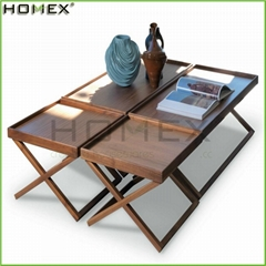 Rectangular Wooden Side Table Homex_BSCI