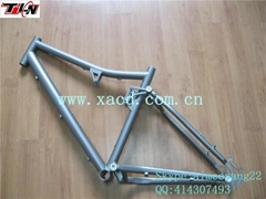 tinew design titanium full suspension bike frame MTB bike frame(factory custom)