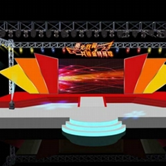 Custom easy install aluminum steel truss concert stage design