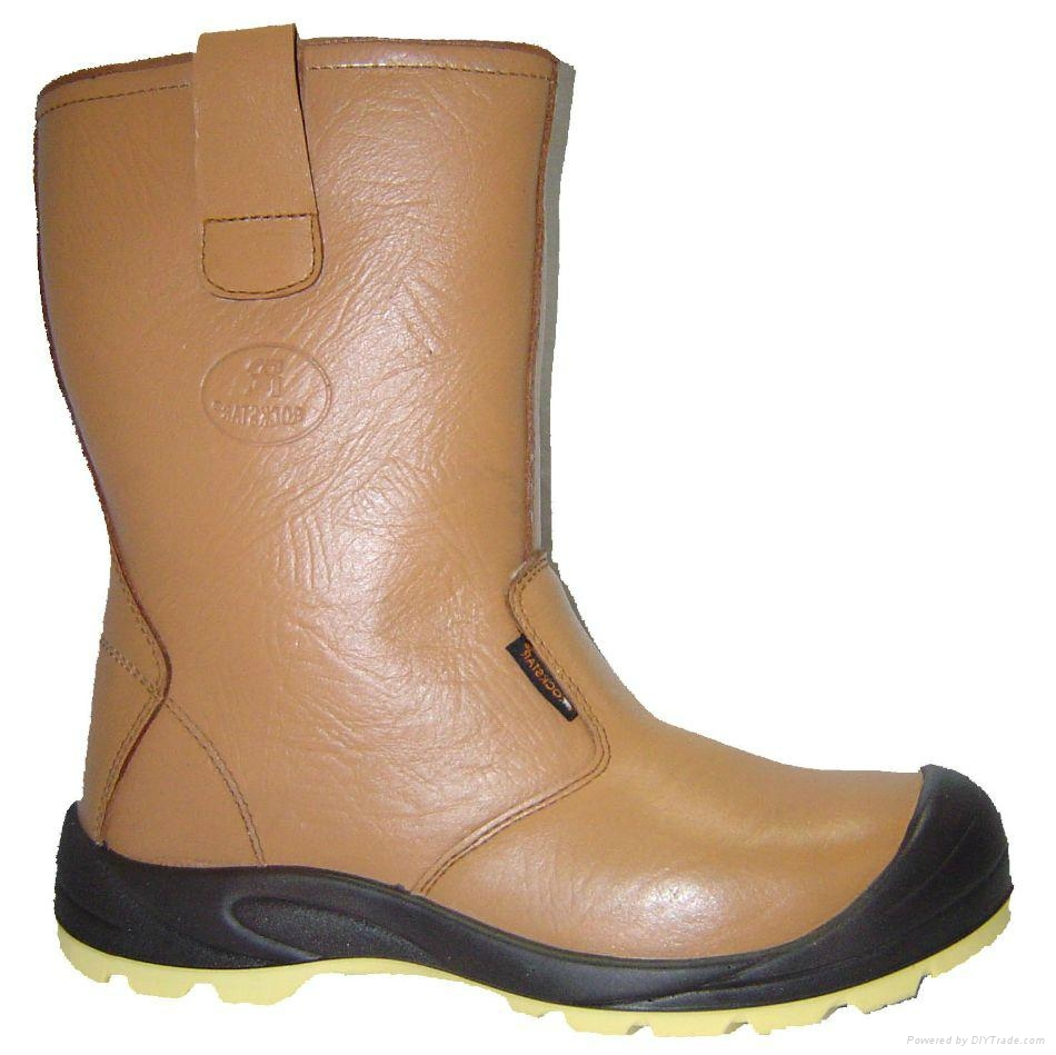 Safety shoes rock star steel toe work shoes high quality 2