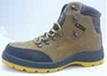 Safety shoes rock star steel toe work shoes PU injection high quality  1