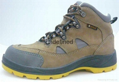 Safety shoes half safety boots rock star steel toe work shoes Europe standard