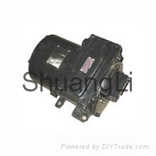 Totally enclosed gear motor zq series DC traction motor