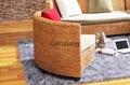 感享 藤傢具藤沙發床 組合客廳
