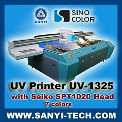 3.2m UV Flatbed Printer UV-1325 with Seiko Heads