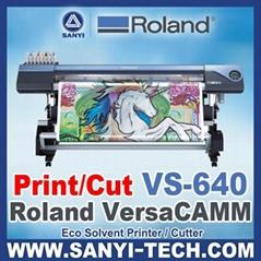 Large Format Roland VersaCAMM VS-640i