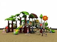 Roto-molded children playgroundFY 00201
