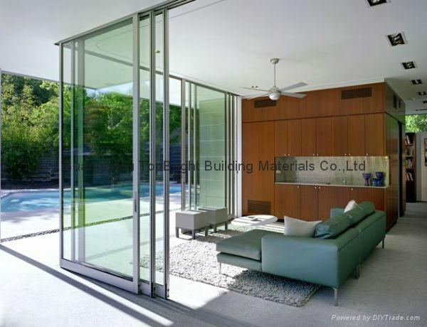 Folding Sliding Door Company, 3 Track Door 1 ...