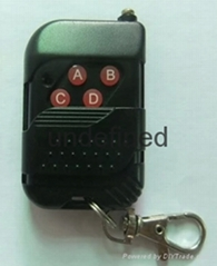 桃木款黑色外殼無線拷貝學習型遙控器