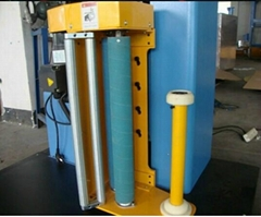 automatic stretch film pallet wrapping machine