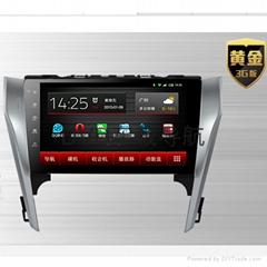 丰田2013款凯美瑞专用DVD导航一体机