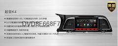 飞歌安卓G8 起亚K4  原装专用DVD导航一体机