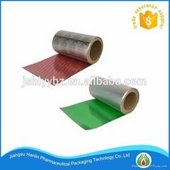 Pharmaceutical blister aluminum foil for packaging medicine